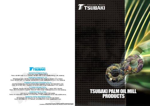 Tsubaki Palm Oil Mill Products