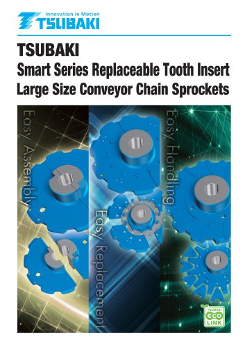 Tsubaki Smart Series Replaceable Tooth Insert Large Size Conveyor Chain Sprockets