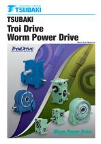 Tsubaki Troi Drive and Worm Power Drive