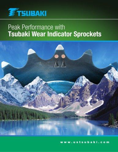 Tsubaki Wear Indicator Sprockets