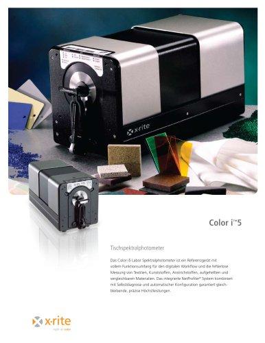 Color i5 Spektrales Tischgerät