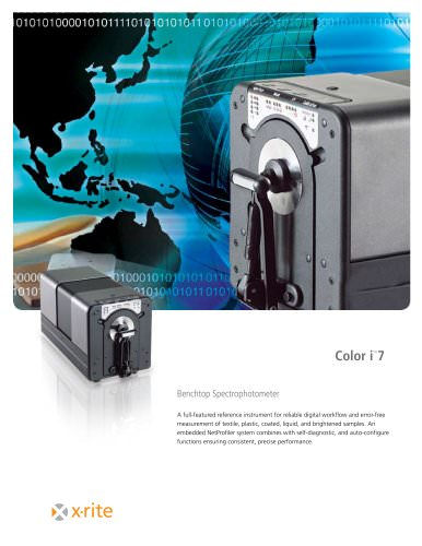 Color i7 Benchtop Spectrophotometer