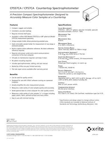 CounterTop 700 (CF57 / CF57U)