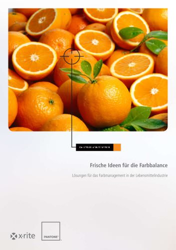 Food Solution Brochure