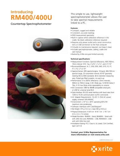 Handheld 400 (RM400)