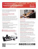 i1Pro 2 Product Catalogue