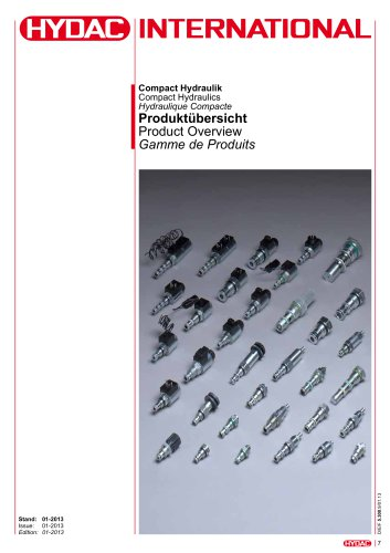 Compact Hydraulics Product Overview