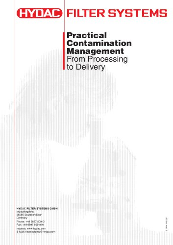 Practical Contamination Management