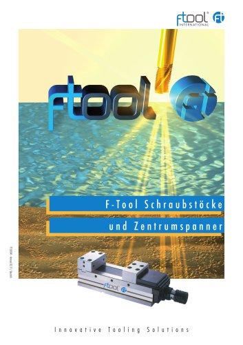 F-Tool Schraubstöcke und Zentrumspanner