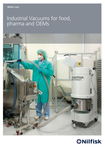 Industrial Vacuums for food, pharma and OEMs