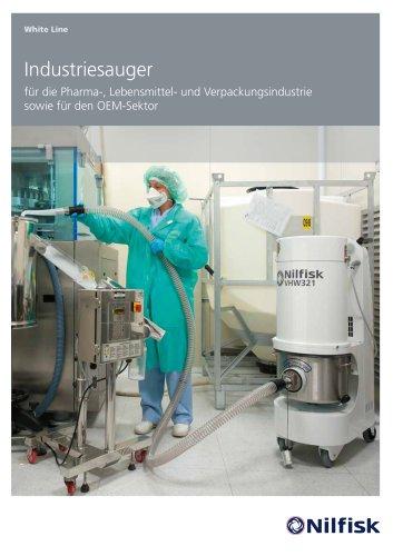 Industriesauger Für OEM, chemie-, Pharma-, Lebensmittel- und verpackungsindustrie