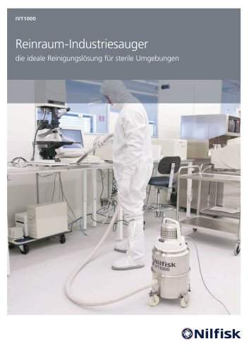 IVT1000 - Reinraum Sauger