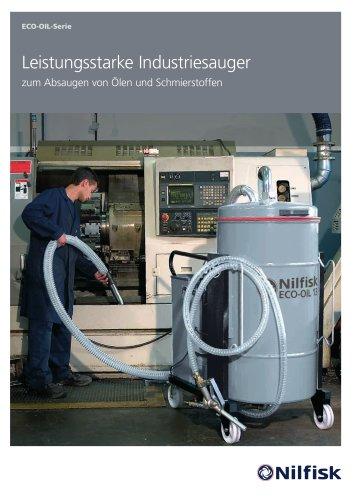 Öl-Serie - Leistungsstarke Industriesauger für Öle und Kühlschmierstoffe