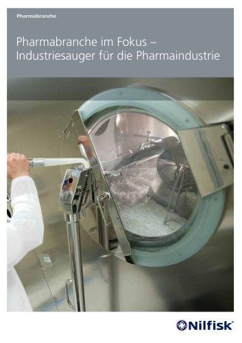 Pharmabranche im Fokus – Industriesauger für die Pharmaindustrie