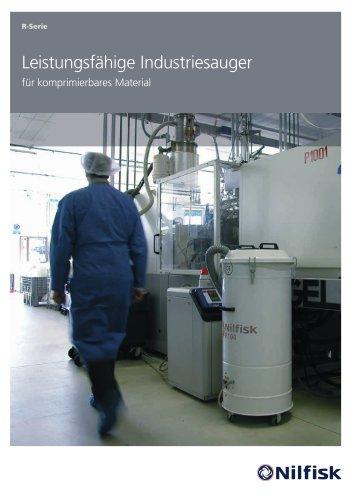 R Serie - Leistungsfähige Industriesauger für komprimierbares Material