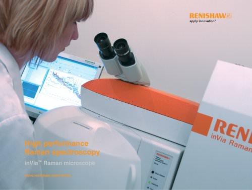 inVia Raman microscopes - inVia Raman microscopes