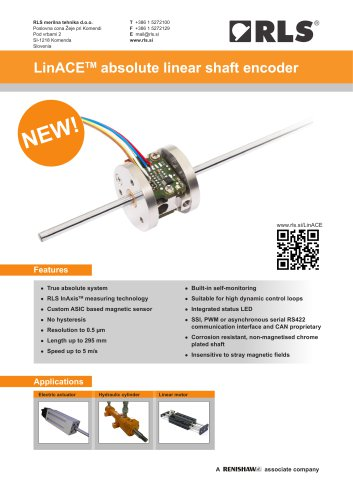 LinACE? absolute linear shaft encoder