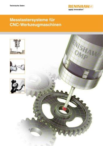 Messtastersysteme für CNC-Werkzeugmaschinen