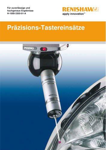 Präzisions-Tastereinsätze - Für zuverlässige und hochgenaue Ergebnisse