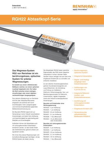 RGH22 Abtastkopf-Serie