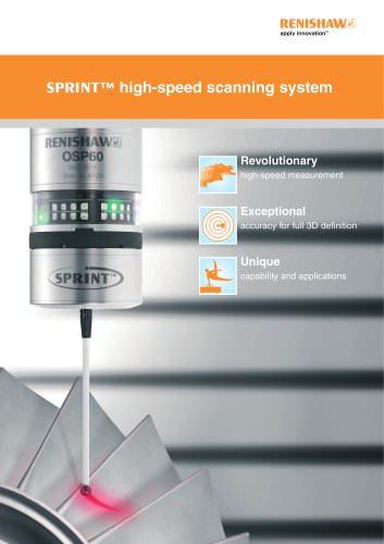 SPRINT? high-speed scanning system