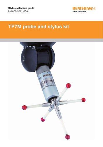 TP7M probe and stylus kit