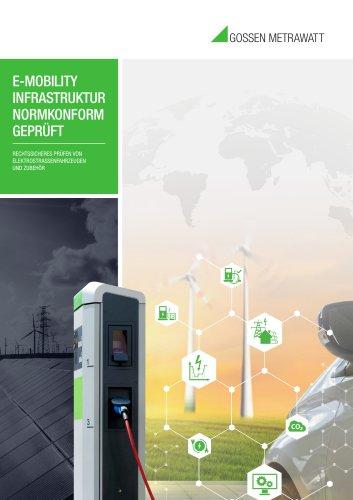 E-Mobility Infrastruktur Normkonform Geprüft