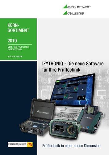 KERNSORTIMENT 2019 MESS- UND PRÜFTECHNIK ENERGIETECHNIK