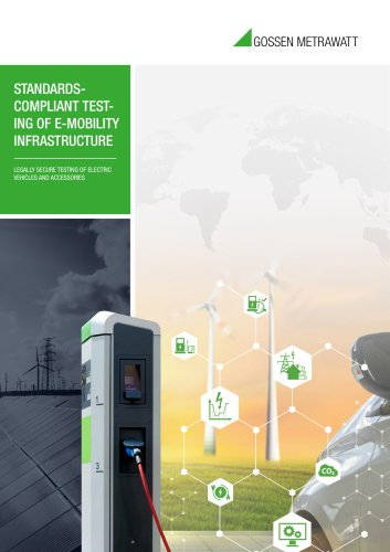 STANDARDSCOMPLIANT TESTING OF E-MOBILITY INFRASTRUCTURE
