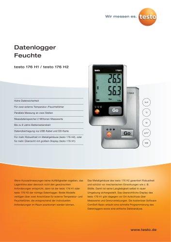 Datenlogger Feuchte - testo 176 H1 / testo 176 H2