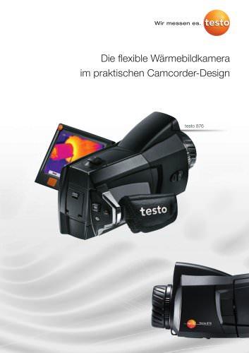Die flexible Wärmebildkamera im praktischen Camcorder-Design - testp 876