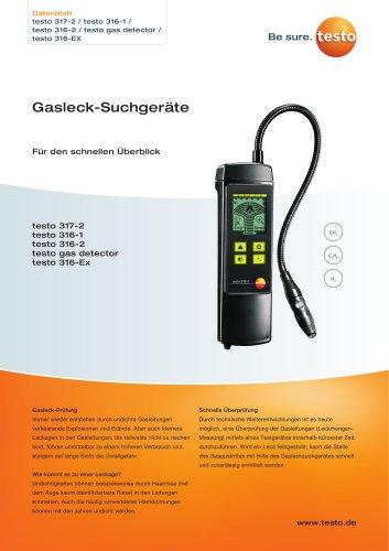 Gasleck-Suchgeräte