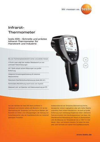 Infrarot-Thermometer - testo 835