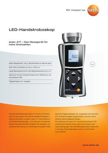 LED-Handstroboskop - testo 477