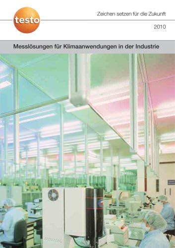 Messlösungen für Klimaanwendungen in der Industrie