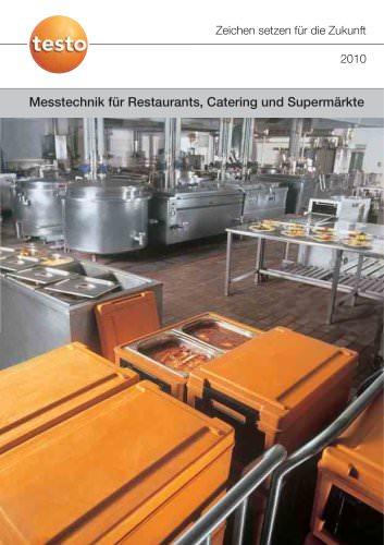 Messtechnik für Restaurants, Catering und Supermärkte