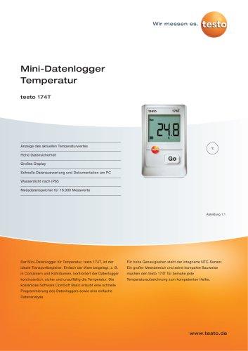 Mini-Datenlogger Temperatur - testo 174T