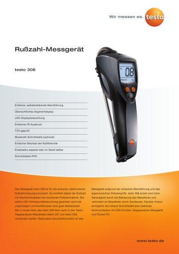 Rußzahl-Messgerät - testo 308