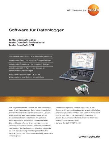 Software für Datenlogger