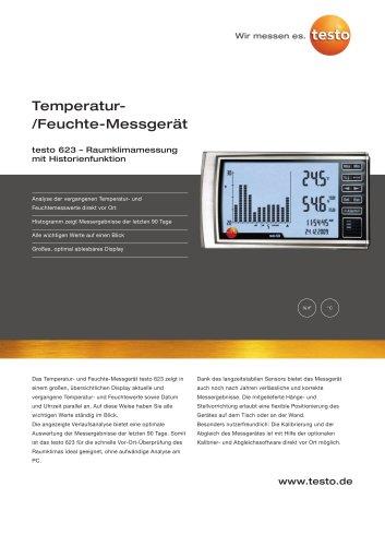 Temperatur-/Feuchte-Messgerät