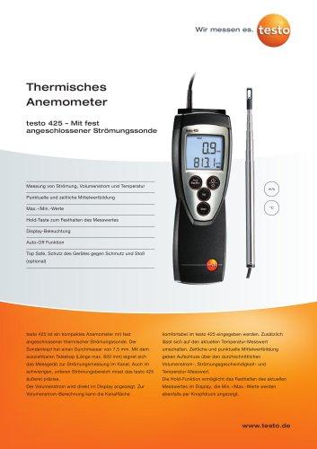 Thermisches Anemometer - testo 425