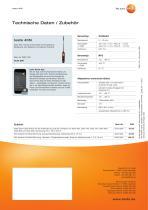 Thermo-Anemometer  mit Smartphone-Bedienung testo 405i - 2