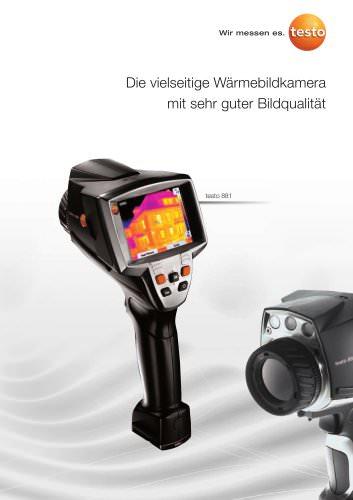 Die vielseitige Wärmebildkamera mit sehr guter Bildqualität - testo 881