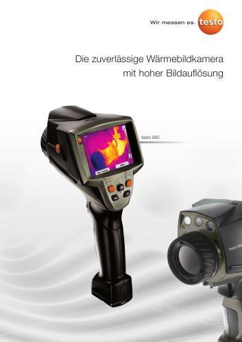 Die zuverlässige Wärmebildkamera mit hoher Bildauflösung - testo 882