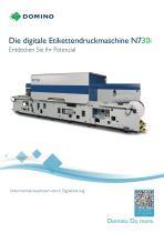 Die digitale Etikettendruckmaschine N730i