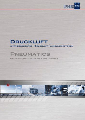 Antriebstechnik - Druckluft-Lamellenmotoren
