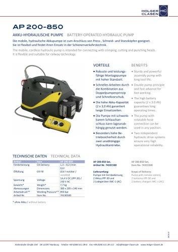 AP 200-850-Set