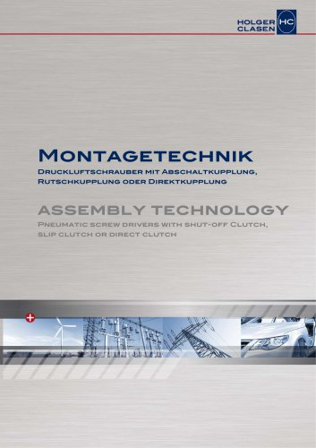 Assembly Technology - Pneumatic Screw Drivers