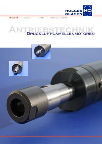 Broschüre Druckluft-Lamellenmotoren