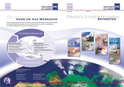 Broschüre Oberflächentechnik - Entrosten